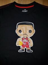 MEN'S Chicargo Bulls D rose NBA funko pop t shirt sz M    BIN A
