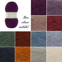 King Cole Panache DK Knitting Yarn Knit Wool Acrylic Mix100g Ball