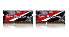 16GB G.Skill Ripjaws DDR3 1600MHz SO-DIMM laptop memory dual kit 2x8GB CL9