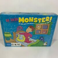 Go Away Monster Gamewright Boardgame 2008 Edition Box Preschool Puzzle Game
