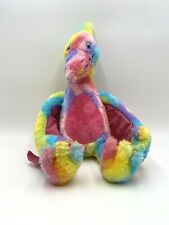 "Build a Bear Rainbow Pterodactyl 18"" Flying Dinosaur Orlando Florida Exc Cond"