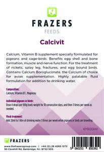 Calcivit 500ml Poultry Racing Pigeon