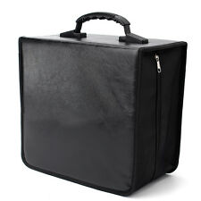 520 Disc CD DVD Album Storage Bag Organizer Holder Media Carrying Case Black