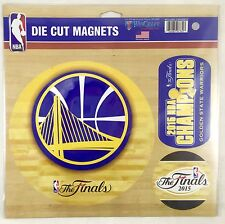 Golden State Warriors NBA Die Cut Magnet (includes 3 Magnets)