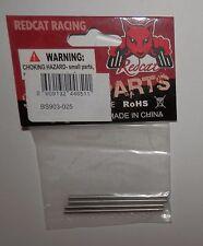 Redcat Long Suspension Arm Pins (3x56mm) (4) - Caldara Aftershock #BS903-025 NIP