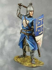Henry II De Bar. Battle of Bouvine Hand PAINTED. Tin Soldiers 54mm 1/32