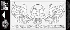 HARLEY DAVIDSON Soldier Skull  6 INCH DECAL