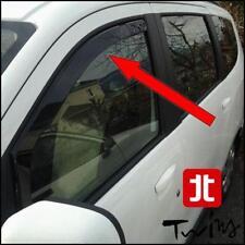 Déflecteurs de vent pluie air teintées pour Dacia Lodgy Dokker vitres avant