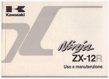 Anleitung Anleitung Kawasaki ZX12R Ninja ZX1200A Ausgabe 2000