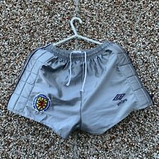 "1986 SCOTLAND ANDY GORAM MATCH WORN SHORTS Umbro World Cup Mexico 86 36"" Waist"
