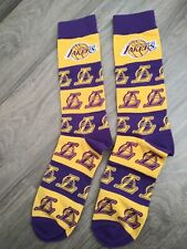 Los Angeles Lakers Socks  Factory Sealed Pair Lebron Merch Kobe