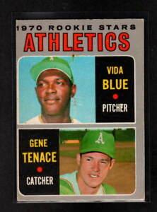 OAKLAND ATHLETICS ROOKIE STARS 1970 O-PEE-CHEE # 21 VIDA BLUE GENE TENACE