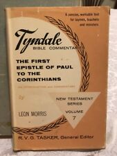 Tyndale Commentary The First Epistle Of Paul To The Corinthians By Leon Morris