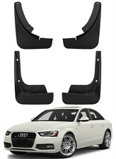 New Set Splash Guards Mud Guards Flaps 8K0075101/111 For 13-16 Audi A4 B8 Saloon
