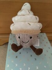 Jellycat. Frosty Cutie Cupcake. Brand New With Tags. Retired.