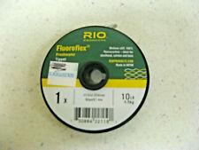 Rio Fluoroflex Freshwater Tippet 1X 10LB 30 yards STEELHEAD SALMON BASS NEW