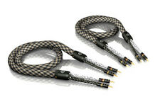 8,00m VIABLUE SC-6 air argenté Mono-Fil Câble pour haut-parleur 8,0m 8m (