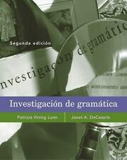 Investigacion de gram�tica