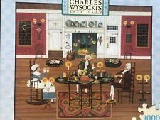 "Charles Wysocki's Americana ""Thanksgiving Dinner Music""Jigsaw Puzzle 1000 Pc NEW"