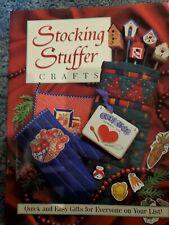 Vintage 1995 Christmas Craft Book~Stocking Stuffer Crafts