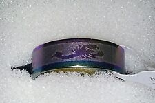 BRAND NEW RAINBOW MULTI COLOUR SCORPION DESIGN STAINLESS STEEL RING SIZE 21