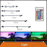 Aquarium Fish Tank LED Light RGB White Blue Strip Bar Lamp Lighting Submersible