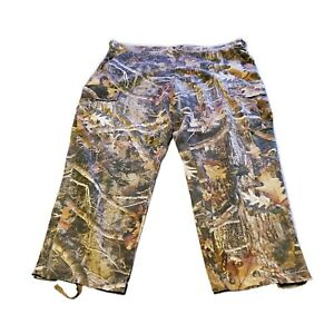 Outfitters Ridge Men's Hunters Camo Hunting Pants Heavy Duty Thick 2XL (50-52)