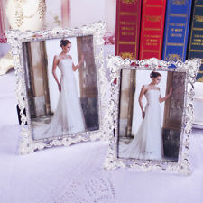 """6""""/7""""/10"""" Retro Crystals Metal Picture/Photo Frame Home Desk Bedroom Wall Decors"""