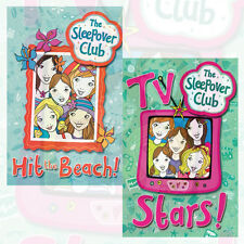 The SleepOver Club 2 Books Collection Set By Harriet Castor Hit the Beach! TV