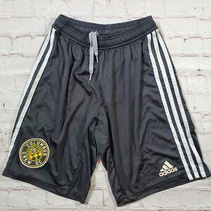 Columbus Crew SC Adidas Climacool Soccer Shorts Mens Small Black