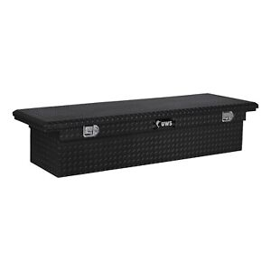 UWS TBS-72-LP-BLK Low Profile Series Single Lid Crossover Tool Box