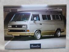 VW Bus 1988 T3 WBX 6 3,7 Oettinger 180 PS Chrome Cars Postkarte 2017