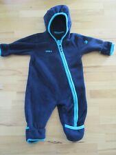 Jako-o Fleece Polartec Overall 56/62 Einteiler Trage Anzug dunkel blau wie NEU