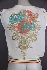 Baby Phat Girlz size medium outer vest top over shirt  designer brand
