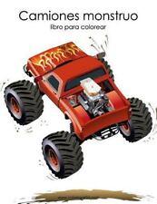 Camiones Monstruo: Camiones Monstruo Libro para Colorear 1 by Nick Snels...