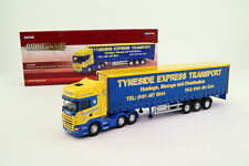 Corgi CC18101 1:76 Scale; Scania R Curtainside Tyneside Express; Excellent Boxed
