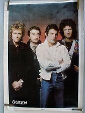 RARE QUEEN 1980 VINTAGE ORIGINAL MUSIC POSTER