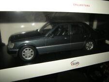1:18 iScale Mercedes-Benz W124 E-Klasse MOPF II anthrazit 1989 in OVP