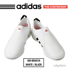 Adidas The Contestant Taekwondo Shoes White / Black ADI-BRAS16 ADITBR01 TKD WT