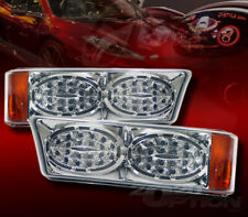 FOR 03-07 SILVERADO 02-06 AVALANCHE LED LOOK CORNER PARKING SIGNAL LAMPS LIGHTS