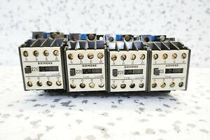 4x SIEMENS 3TH80 22-0A SCHÜTZ - set of 4