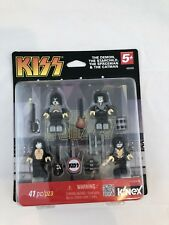 Kiss Minifigure set by K'nex 41 Pc