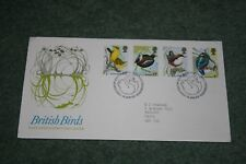 Post Office First Day Cover: 'British Birds' 1980. Bureau Pictorial Cancellation