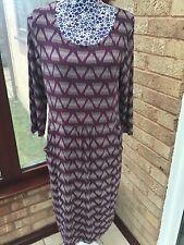 Dress White Stuff 14 Rosy Purple NEW WITHOUT TAGS