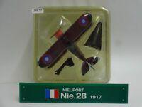 Del Prado Nieuport Nie 28 1917 1/64 Scale War Aircraft Diecast Display 27