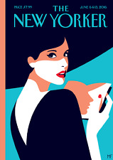 The New Yorker Cover Page Poster