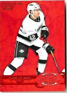 20-21 UD Metal Hockey #R-32 Gabe Vilardi PMG Red #d /100 Kings