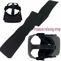 Head Pressure-relieving Black Strap Stretch Belt Tool for Oculus VR Quest Helmet