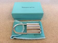 Silver Padlock Lock Keychain Ring 1995 Paloma's Groove Tiffany & Co Sterling