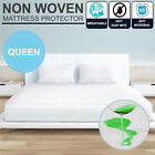 Queen Bed Non Woven Fitted Waterproof & Anti-Allergy Mattress Protector Cover